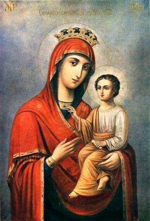 Икона Пресвятой Богородицы именуемой Скоропослушница