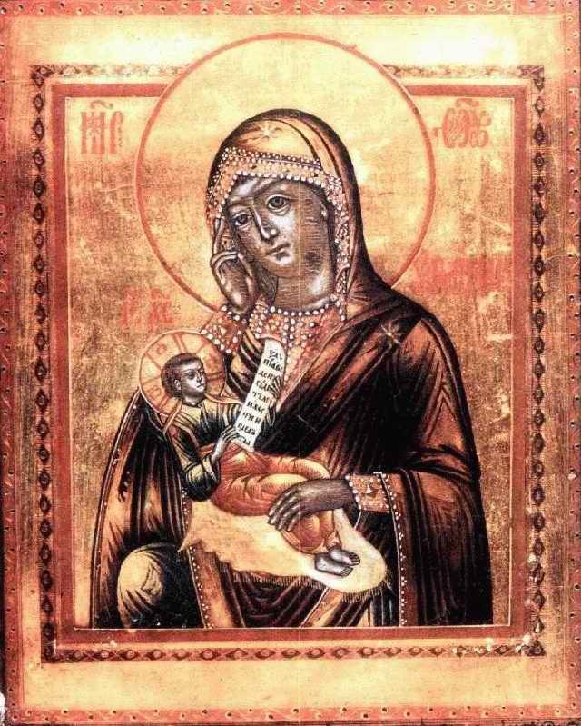 Икона Божией Матери именуемая Утоли моя печали