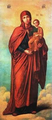 Икона Божией Матери именуемая Благодатное Небо