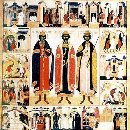 Мученики Антоний Иоанн и Евстафий Виленские