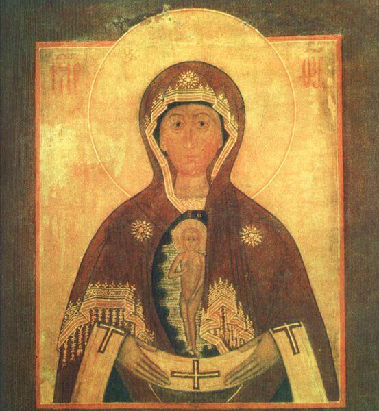 Албазинская икона Божьей Матери Слово плоть бысть