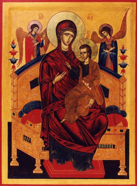 Икона Божией Матери именуемая Всецарица