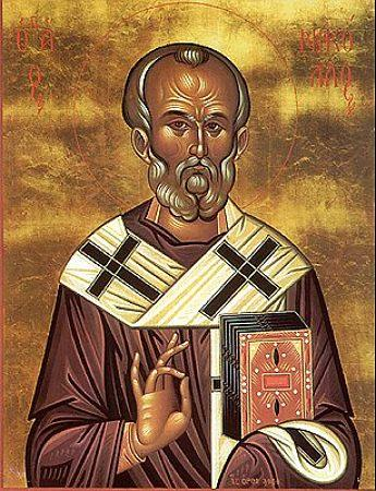 Святитель Николай архиепископ Мир Ликийских, чудотворец